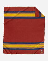 ZION NATIONAL PARK BLANKET IN ZION RED