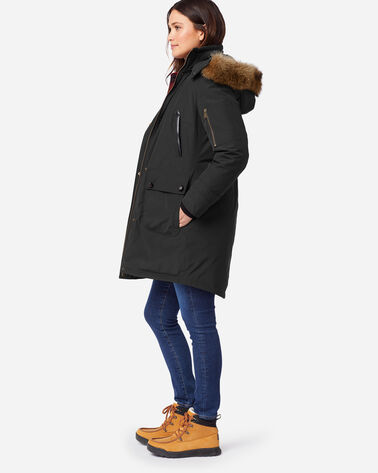 WOMEN'S JACKSON PARKA IN BLACK
