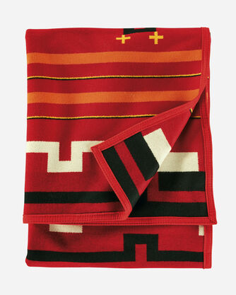 ADDITIONAL VIEW OF PRESERVATION SERIES: PS02 BLANKET IN RED MULTI