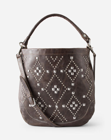 MELISSA NATIVE SUN STUD HOBO, SLATE, large