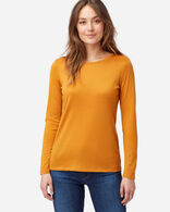 MACHINE WASHABLE LONG-SLEEVE MERINO TEE