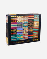 ART OF PENDLETON PATCHWORK PUZZLE IN MULTI