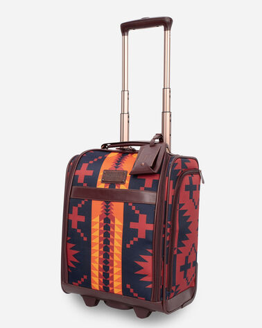 SPIDER ROCK ROLLING UNDERSEAT CARRY-ON IN RUST/NAVY