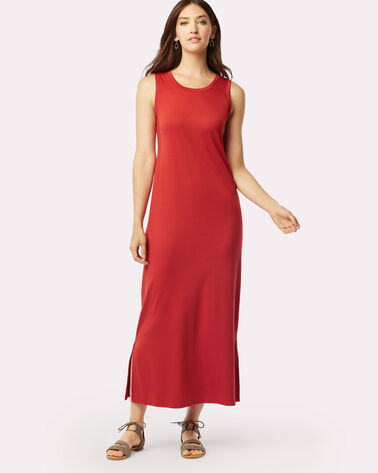 ELIOT MAXI DRESS, TRUE RED, large