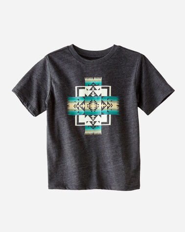 KIDS' GRAPHIC TEE, CHARCOAL HEATHER, large