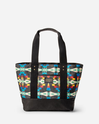 TUCSON CANOPY CANVAS TOTE, BLACK/MULTI, large