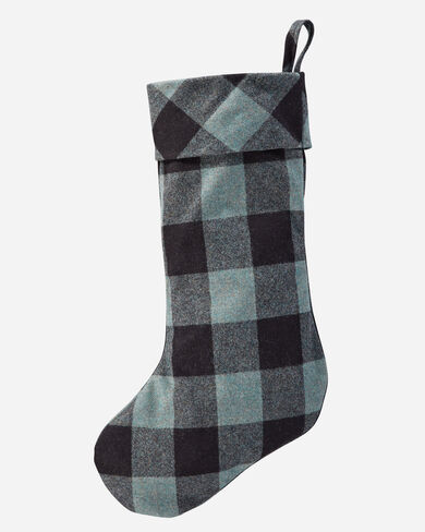 PLAID WOOL STOCKING