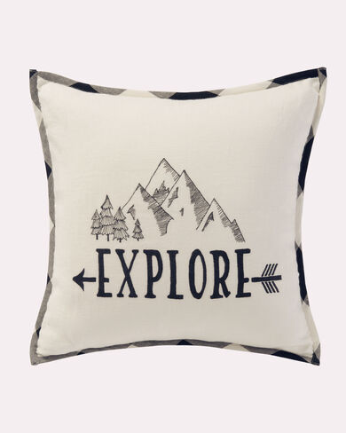 EXPLORE PORCH PILLOW