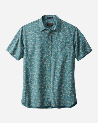 FITTED PAISLEY PRINT KAY STREET SHIRT, , large