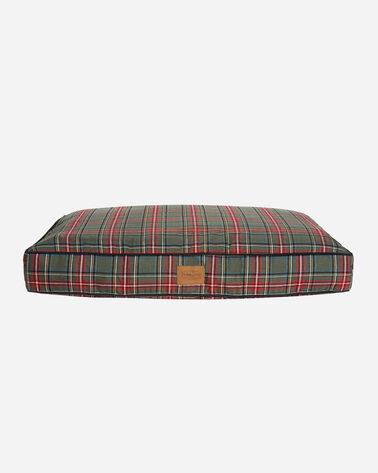 GREY STEWART TARTAN DOG BED IN SIZE MEDIUM