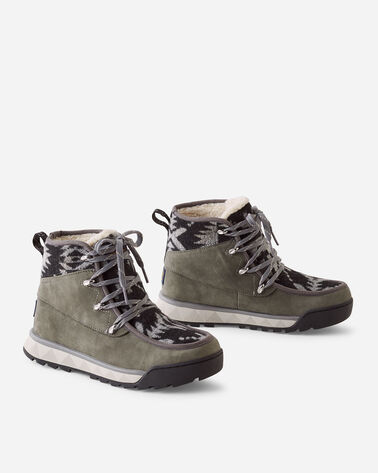 WOMEN'S TORNGAT TRAIL LACE-UP BOOTS IN GREY/SPIDER ROCK