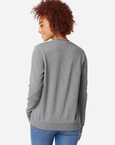 ADDITIONAL VIEW OF WOMEN'S PENDLETON LOGO SWEATSHIRT IN GREY HEATHER