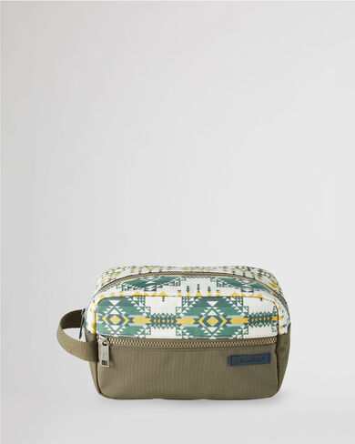 PILOT ROCK CANOPY CANVAS CARRYALL POUCH IN OLIVE