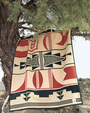 GIFT OF THE EARTH BLANKET, TAN, large