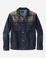 MEN'S PILOT ROCK DENIM RYDER JACKET