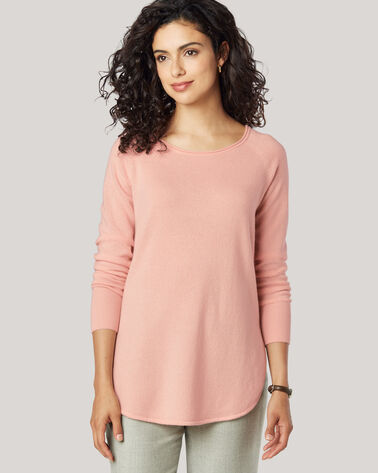 CASHMERE JOSEPHINE PULLOVER, EVENING SAND, large