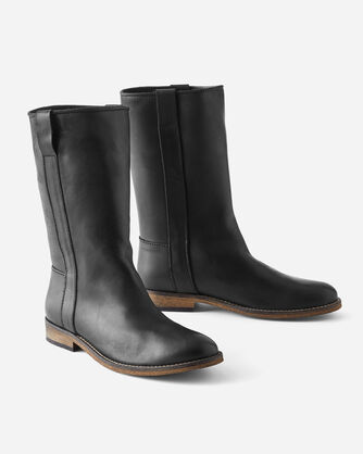 SIMONE PULL-ON BOOTS, BLACK, large
