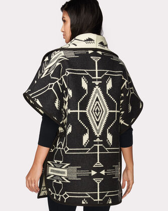 TSI MAYOH REVERSIBLE CURVE CAPE, BLACK, large