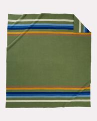 ROCKY MOUNTAIN NATIONAL PARK BLANKET, SAGE, large