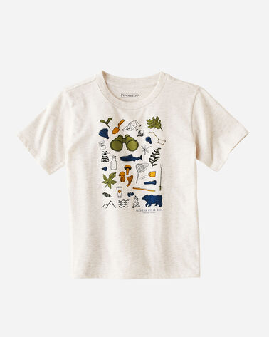 KIDS' EXPLORER GRAPHIC TEE
