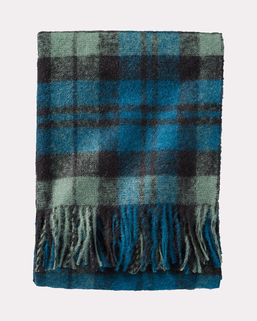 BOUCLE WOOL THROW