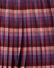 REVERSIBLE SKIRT, BLUE PLAID/RED PLAID, large