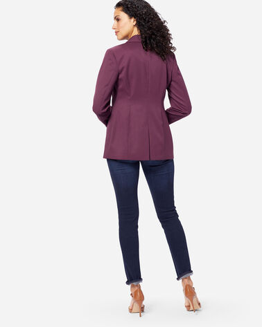 SEASONLESS WOOL BLAZER, FIG, large