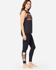 HURLEY X PENDLETON QUICK DRY LEGGINGS, BLACK ACADIA, large
