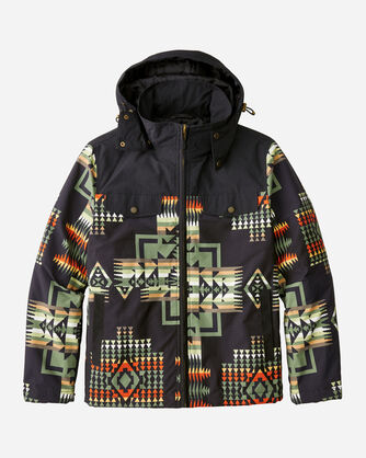 MEN'S BLACK HILLS RIPSTOP JACKET IN BLACK CHIEF JOSEPH