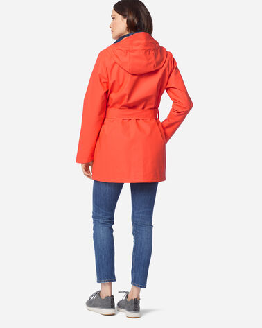 ADDITIONAL VIEW OF WOMEN'S BROOKINGS RAIN JACKET IN TANGERINE