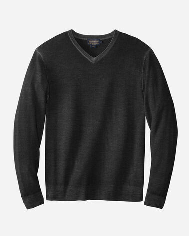 MEN'S MERINO MAGIC-WASH V-NECK PULLOVER
