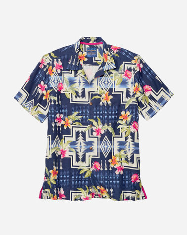 TOMMY BAHAMA & PENDLETON CAMP SHIRT, OCEAN DEEP, large
