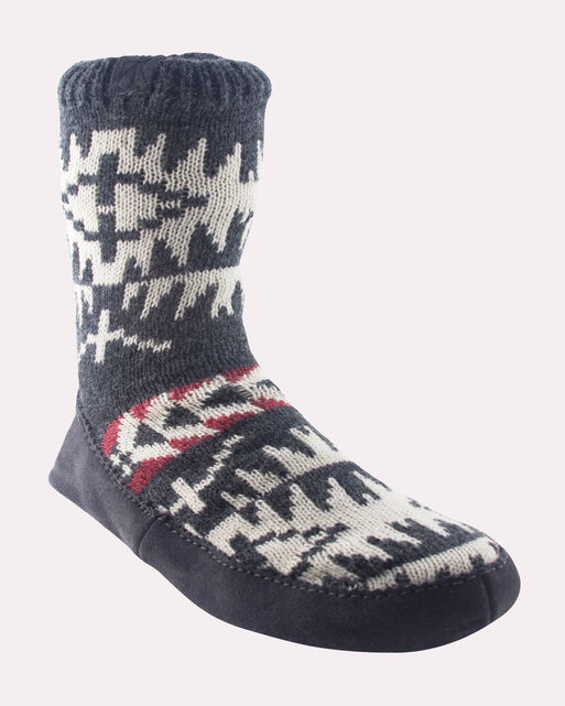 SPIDER ROCK HOMESTEAD SLIPPERS, CHARCOAL, large