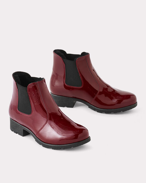 PULL-ON ANKLE RAIN BOOTS, , large