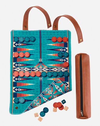 ADDITIONAL VIEW OF PENDLETON BACKGAMMON IN MULTI