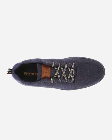 ALTERNATE VIEW OF MEN'S PENDLETON WOOL SNEAKERS IN NAVY HEATHER
