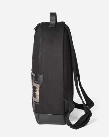 HARDING BACKPACK, BLACK/TAN, large
