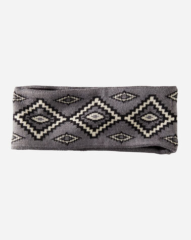 KIVA STEPS FLEECE-LINED HEADBAND IN CHARCOAL