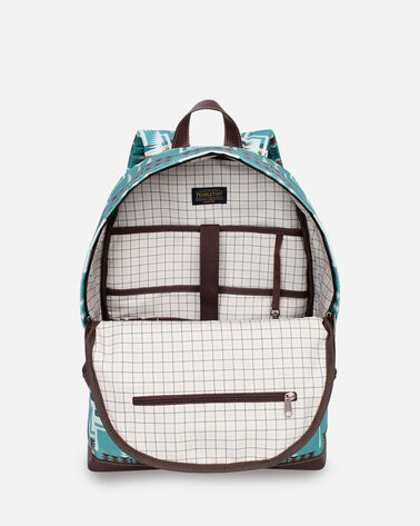ALTERNATE VIEW OF HARDING BACKPACK IN AQUA