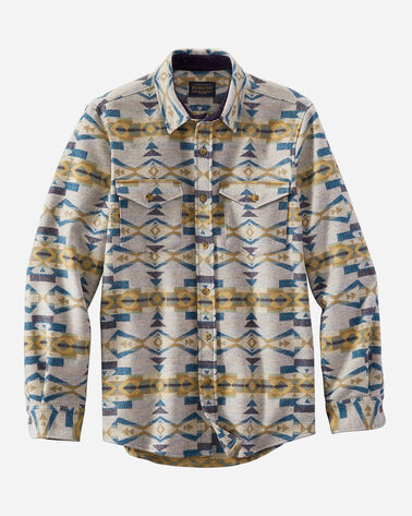 MEN'S FITTED LA PINE OVERSHIRT