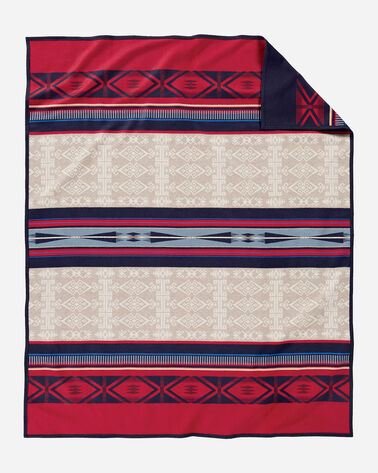 ADDITIONAL VIEW OF BIGHORN BLANKET IN IVORY MULTI