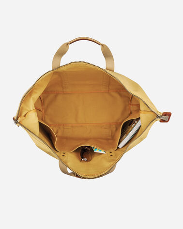ADDITIONAL VIEW OF COTTON CANVAS GYM BAG IN HARVEST TAN