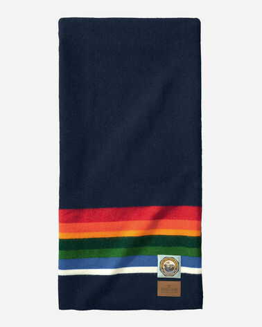 CRATER LAKE NATIONAL PARK THROW, NAVY, large