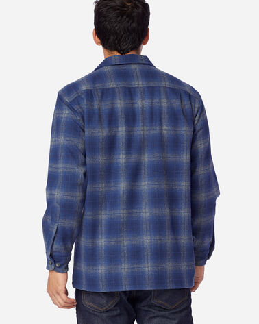 ALTERNATE VIEW OF MEN'S BOARD SHIRT IN BLUE/GREY OMBRE