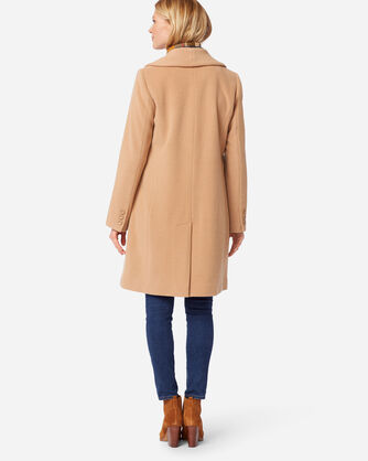 ADDITIONAL VIEW OF WOMEN'S WALKER COAT IN CREAM CAMEL
