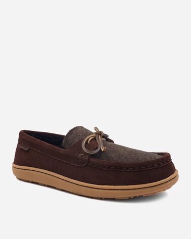 ALTERNATE VIEW OF MEN'S RANCHO MOC SLIPPERS IN PINECONE