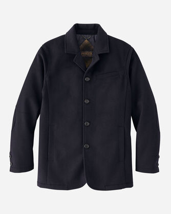 ALTERNATE VIEW OF MEN'S BRUNSWICK INSULATED JACKET IN NAVY