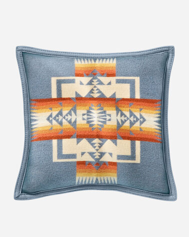 CHIEF JOSEPH PILLOW IN SLATE