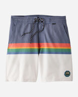 HURLEY X PENDLETON MEN'S BOARD SHORTS IN NAVY CRATER LAKE