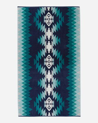 PAPAGO PARK SPA TOWEL, TURQUOISE, large